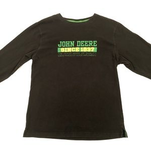 John Deere black long sleeve.